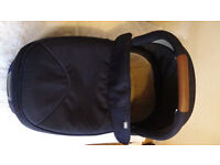 Mamas and Papas Armadillo Flip XT Carrycot Navy Excellent condition