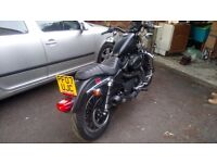 Harley Davidson Sportster 883r with extras