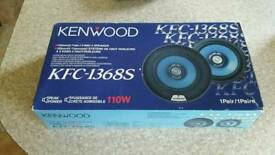 NEW KENWOOD KFC-1368S car speakers