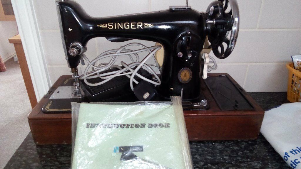 Singer Sewing Machine Of Unknown Age Converted To Electric And Unique Singer Sewing Machine Age
