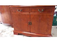 Small sideboard/CD and stereo cabinet for sale - originally from Housing Units of Hollinwood
