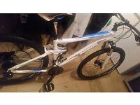 Nearly new mongoose salvo comp xc bike cost 1000 swap for car mgzr fiesta golf passat turbo 307