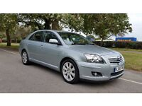 TOYOTA AVENSIS 2.0 TR D-4D 08 PLATE 2008 2 F/KEEPER 144000 MILES SERVICE HISTORY 6 SPEED 5 DOORS