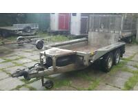 2011 ifor williams gx 84 8ft X 4ft braked plant trailer ready for work no vat