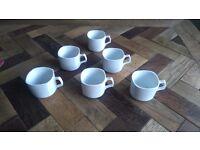 6 coffee cups