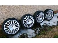 "18"" Ford Mondeo ST Alloy Wheels With Tyres"