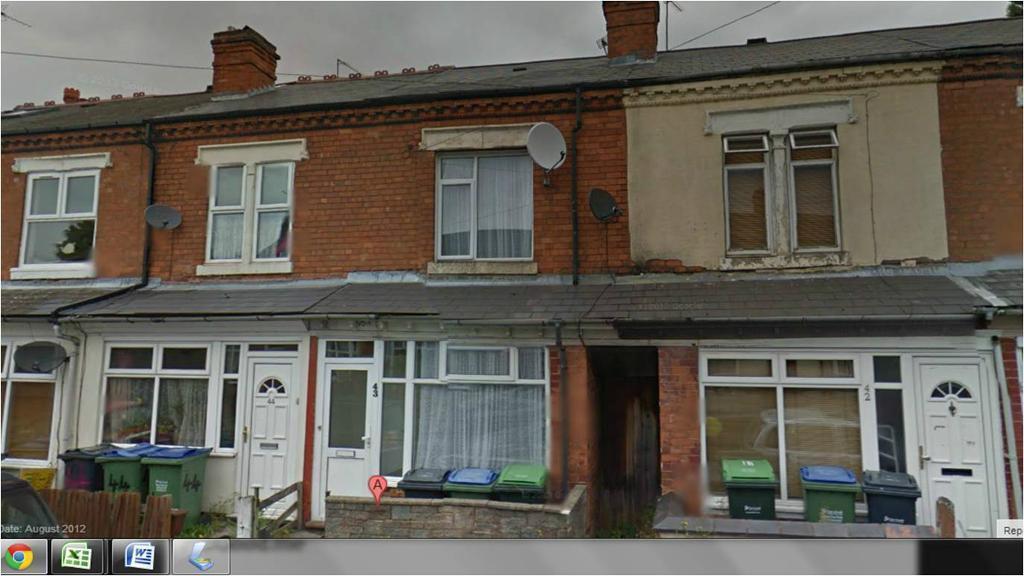 dss accepted 43 reginald road bearwood birmingham b67 5ae 2 bedroom