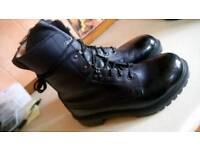 Arm boots, steel toecap, size 44, black