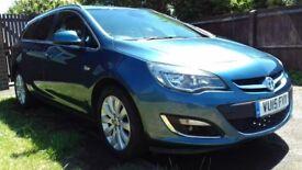 Vauxhall Astra Elite 1.6 cdti 136 bhp/20 tax a year