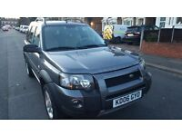 LEFT HAND DRIVE 2006 FREELANDER TD4 SPORTS 85,000 MILES IN SOUTH EAST LONDON