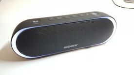 SONY SRS-XB20 Portable Wireless Speaker with Extra Bass and Lighting - Black