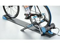 Tacx Smart Genius Turbo Trainer + steering platform. Decline engine up to 50kmh! Works with Zwift