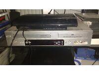 DVD Video Combi DVD Player / VHS Player