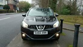 2010 Nissan Qashqai N-Tec 1.5dci ** LOW MILEAGE 68K ** TOP SPEC FULLY LOADED