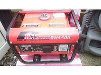 RHYAS PETROL GENERATOR 1500 watt
