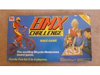 BMX Challenge Game - boxed board game for ages 5 to adult and 2 to 4 players; very good condition
