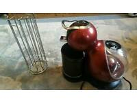 Dolce Gusto coffee machine with pod holder