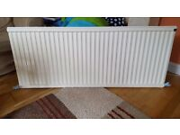 Central heating radiator - single panel - 1450mm x 600mm
