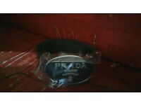 PRADA BELT BRAND NEW IN BLACK