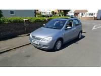 Vauxhall Corsa 1.2 petrol 12 months mot