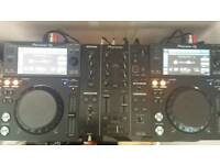 Pioneer xdj 700 set up dj decks