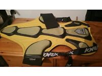 "Attitude"" Motorcycle Street/Track Racing Back/Spine/sides Protector"