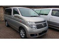 Nissan Elgrand 4x4 Automatic 8 seater Estate/MPV/Camper