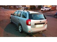 Dacia logan, one owner,biggest boot in class, good condition, tow bar, 5 seater , silver.