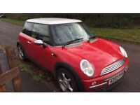 Red mini hatchback .please read description :)