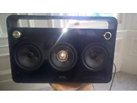 TDK Speaker/Boombox with Three Sub-Woofers