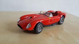 VERY RARE DIECAST CAR MODEL - 1956 Ferrari Testa Rossa 250 Franklin Mint 1/24