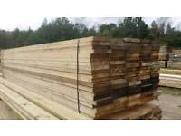 Unbanded Untreated Scaffold Boards (225mm x 38mm) 3.9mtr Lengths