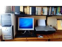 Dell Dimension 9100 PC, printer and accessories. Ideal for home office