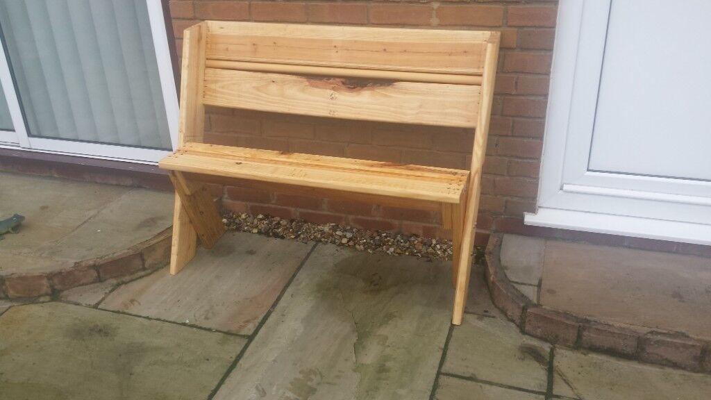 Astounding Garden Bench Made From Reclaimed Wood In Dereham Norfolk Gumtree Creativecarmelina Interior Chair Design Creativecarmelinacom