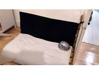 Futon and Cushion/Mattress - Free Collect this Weekend