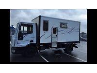 Euro cargo 5 birth Motorhome 54 plate 2.3 diesel