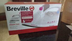 Breville iron brand new unused