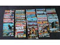 44 issues of Powerstation Magazine. Between Issue 111 and 166.