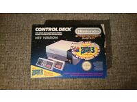 Boxed Nintedno Entertainment System NES Console