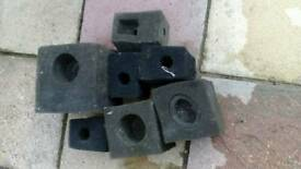 Pond pump filter sponges