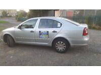 Skoda octavia bradford 2012 Plated taxi car Quick Sale