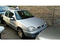 Citroen saxo 1.1 new clutch and service