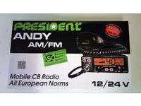 President Andy ASC AM / FM Brand New OEM