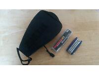 trek saddle bag with bike tool and punture repair kit