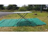Brand New Adjustable Large Plastic Table for Caravan, Motorhome, Camping or Home Use