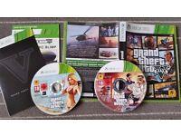Xbox 360 games GTA Grand theft auto V