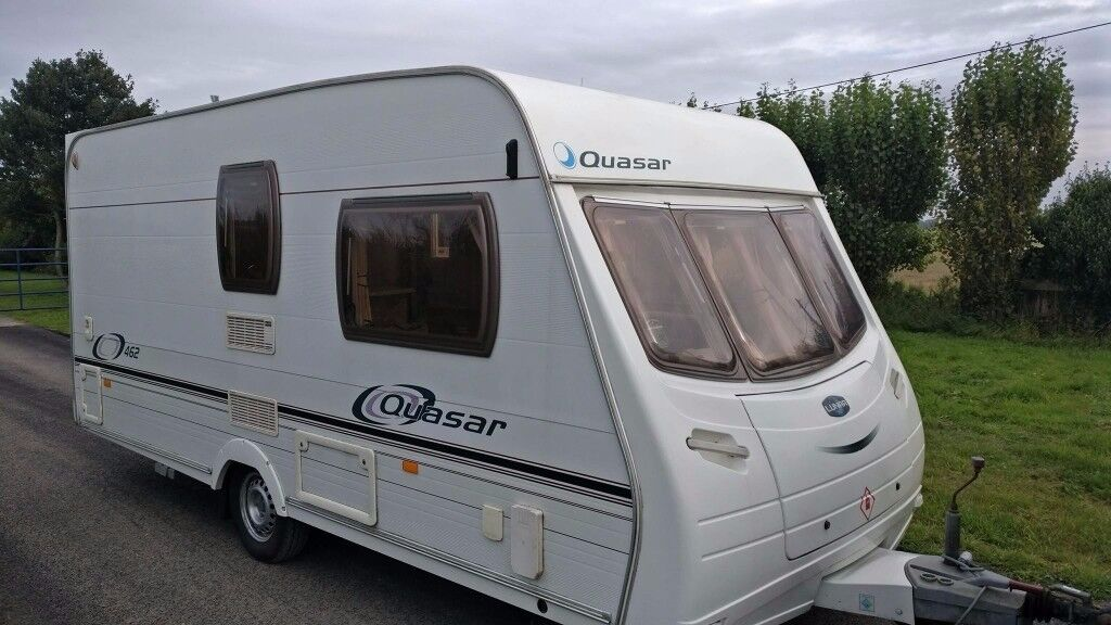 2005 Lunar Quasar 462/ 2 Berth End Washroom Cris Registered Caravan