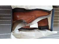 Mens Rockport Brown Shoes UK Size 10 , Boxed - as new