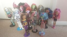 Rare Monster High Doll Collection !