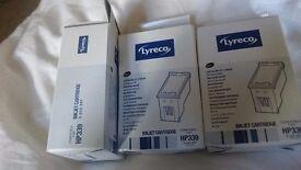 Lyreco HP inkjet cartridge black x3
